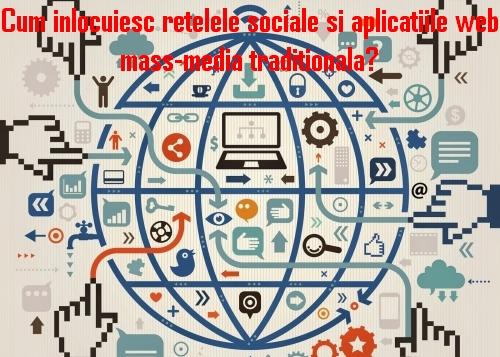 Cum inlocuiesc retelele sociale si aplicatiile web mass-media traditionala?